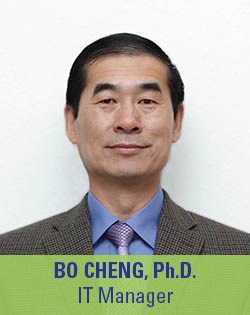 Bo Cheng, Ph.D., IT Manager