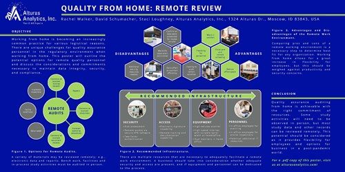Quality from Home: Remote Review Poster